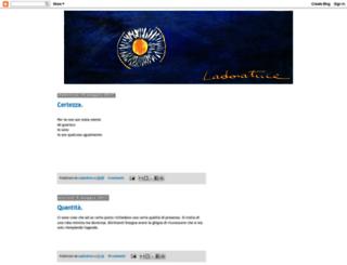 ladoratrice.blogspot.it screenshot