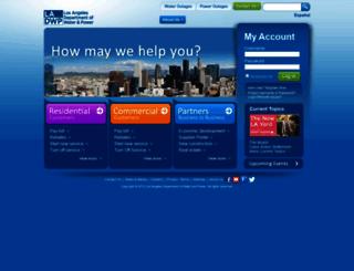 ladwp.com screenshot