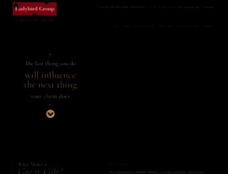 ladybirdgifts.com.au screenshot
