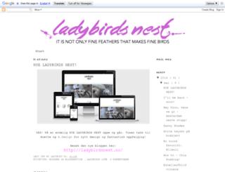ladybirdnest.blogspot.de screenshot