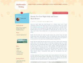 ladybugfreak.wordpress.com screenshot