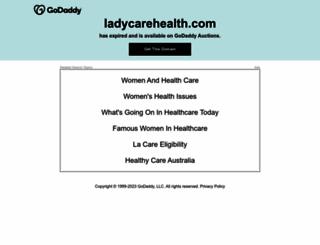ladycarehealth.com screenshot