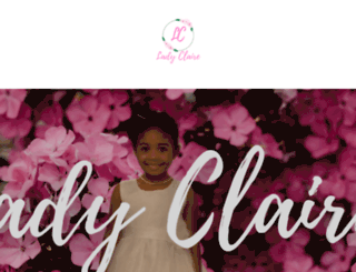 ladyclaire.com screenshot