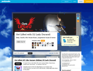 ladyduracellqueenoffunk.podomatic.com screenshot