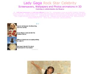 ladygaga.pages3d.net screenshot