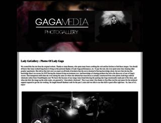 ladygagallery.net screenshot