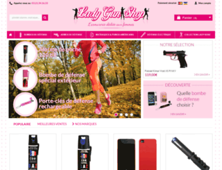 ladygunshop.com screenshot