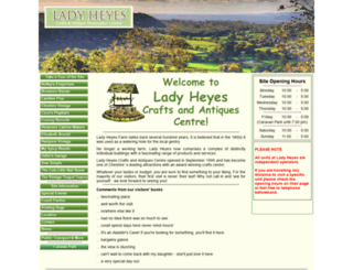 ladyheyes.co.uk screenshot