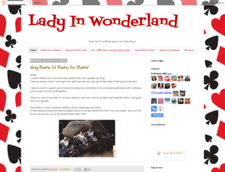 ladyinwonderland.blogspot.com screenshot