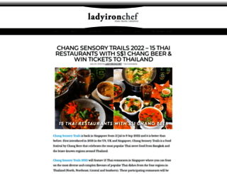 ladyironchef.com screenshot