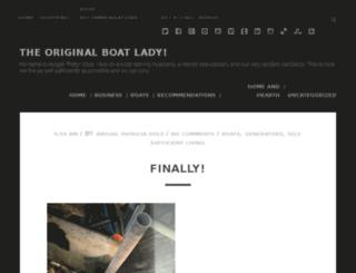 ladylivingonaboat.com screenshot