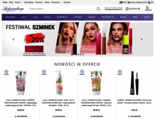ladymakeup.pl screenshot