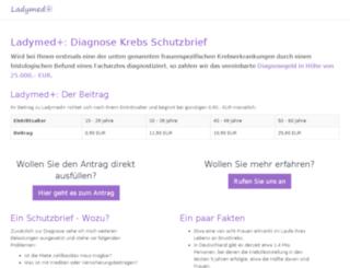 ladymedplus.verticus.de screenshot