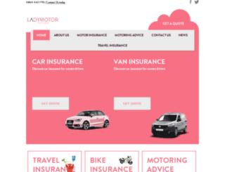 ladymotor.co.uk screenshot