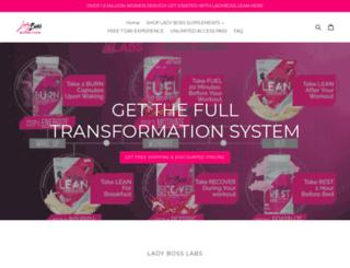 ladynutrition.com screenshot