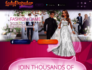 ladypopular.com screenshot