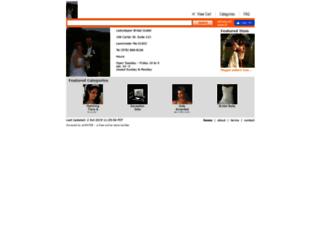 ladyslipperbridaloutlet.ecrater.com screenshot