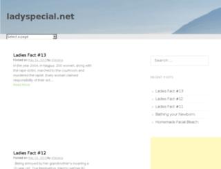 ladyspecial.net screenshot