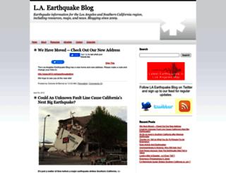 laearthquakeblog.typepad.com screenshot