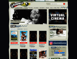 laemmle.com screenshot
