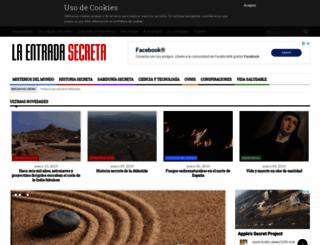 laentradasecreta.com screenshot