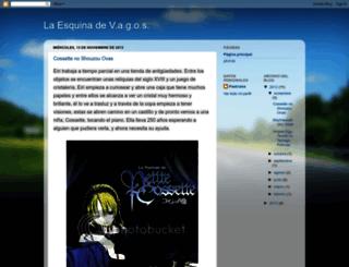 laesquinadevagos.blogspot.com screenshot