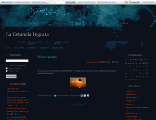 laestanciaingrata.blog.com.es screenshot