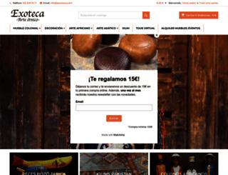 laexoteca.com screenshot