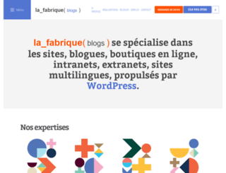 lafabriquedeblogs.com screenshot