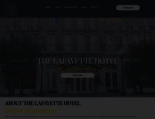 lafayettehotelneworleans.com screenshot