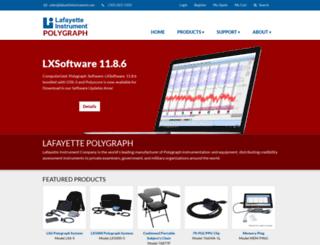 lafayettepolygraph.com screenshot