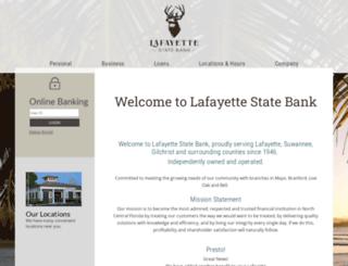 lafayettestatebank.com screenshot