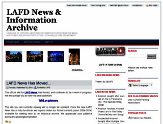 lafd.blogspot.com screenshot