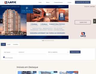 lafic.com.br screenshot