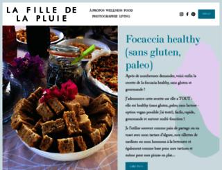 lafilledelapluie.com screenshot