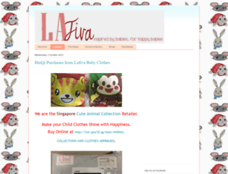 lafivababyclothes.blogspot.sg screenshot