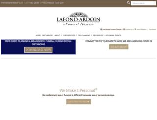 lafondardoin.com screenshot