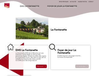 lafontanette.ch screenshot
