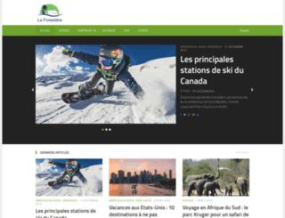 laforestiere.net screenshot