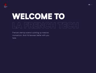 lafrenchtech.com screenshot