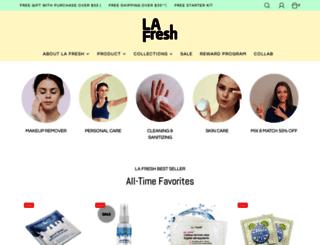 lafreshgroup.com screenshot
