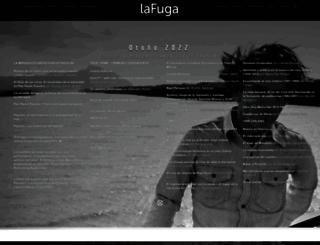 lafuga.cl screenshot