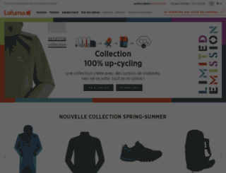 lafuma-boutique.com screenshot