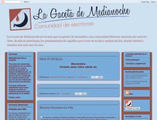 lagacetademedianoche.blogspot.com screenshot