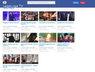 lagaluga.tv screenshot