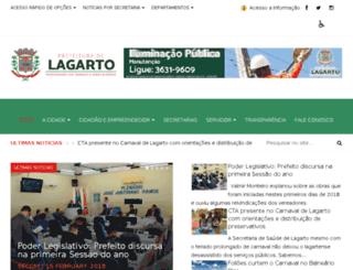 lagarto.com.br screenshot