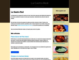 lagastrored.es screenshot