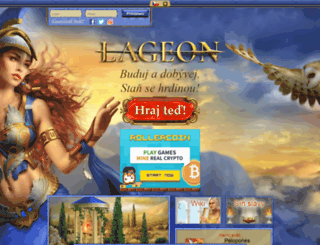 lageon.cz screenshot