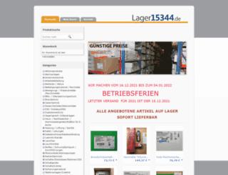 lager15344.de screenshot
