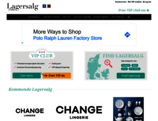 lagersalg.com screenshot